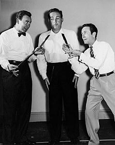 Sid Caesar, Carl Reiner & Howard Morris