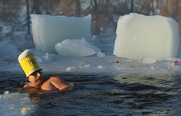 Swimming in Ice