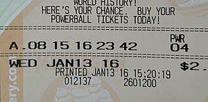Lottery ticket trivia