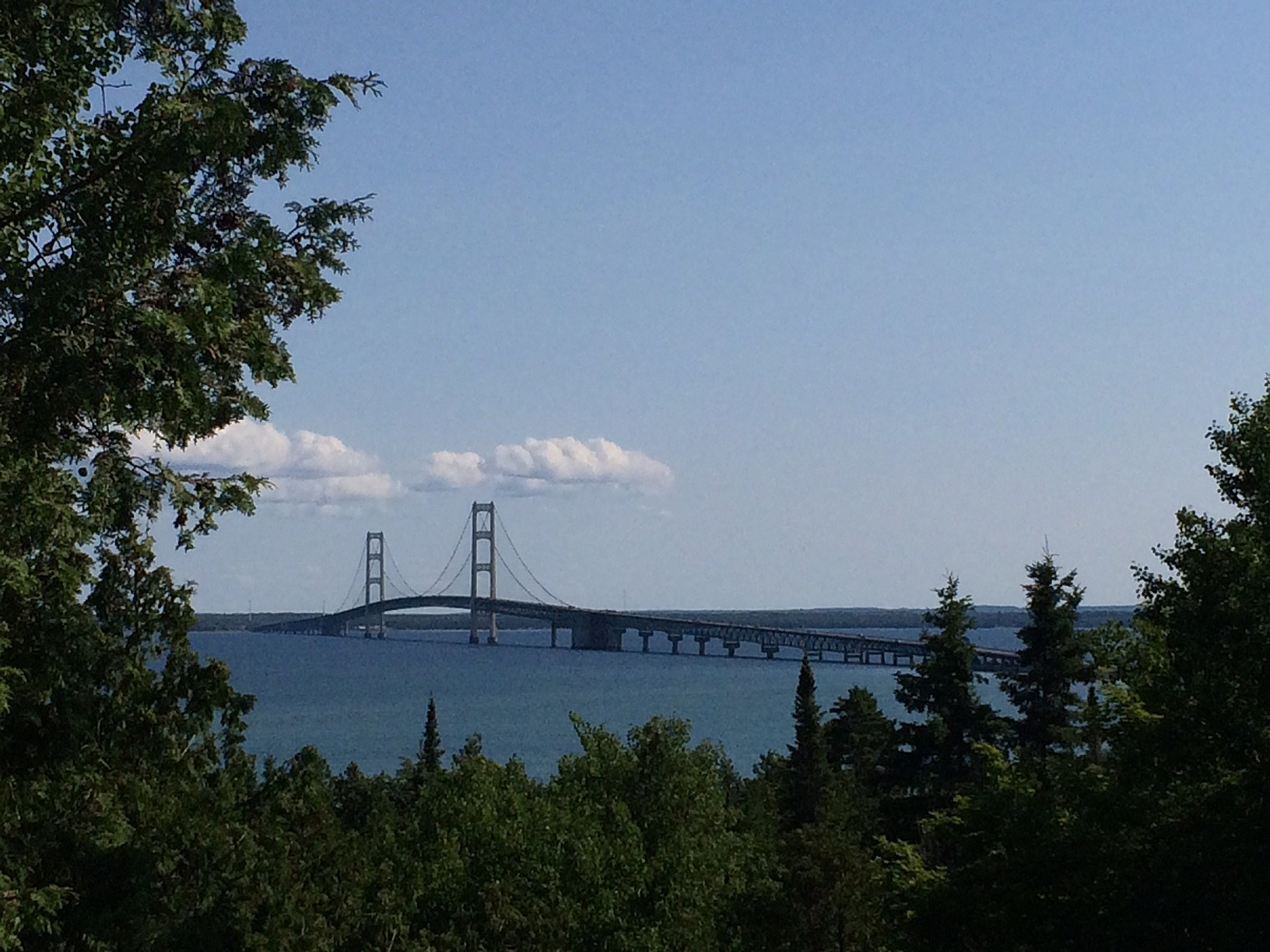 mackinaw bridge summer