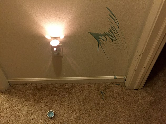 how to get wax off carpet and walls