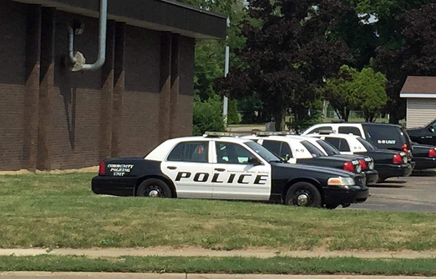 Kalamazoo City Police Car