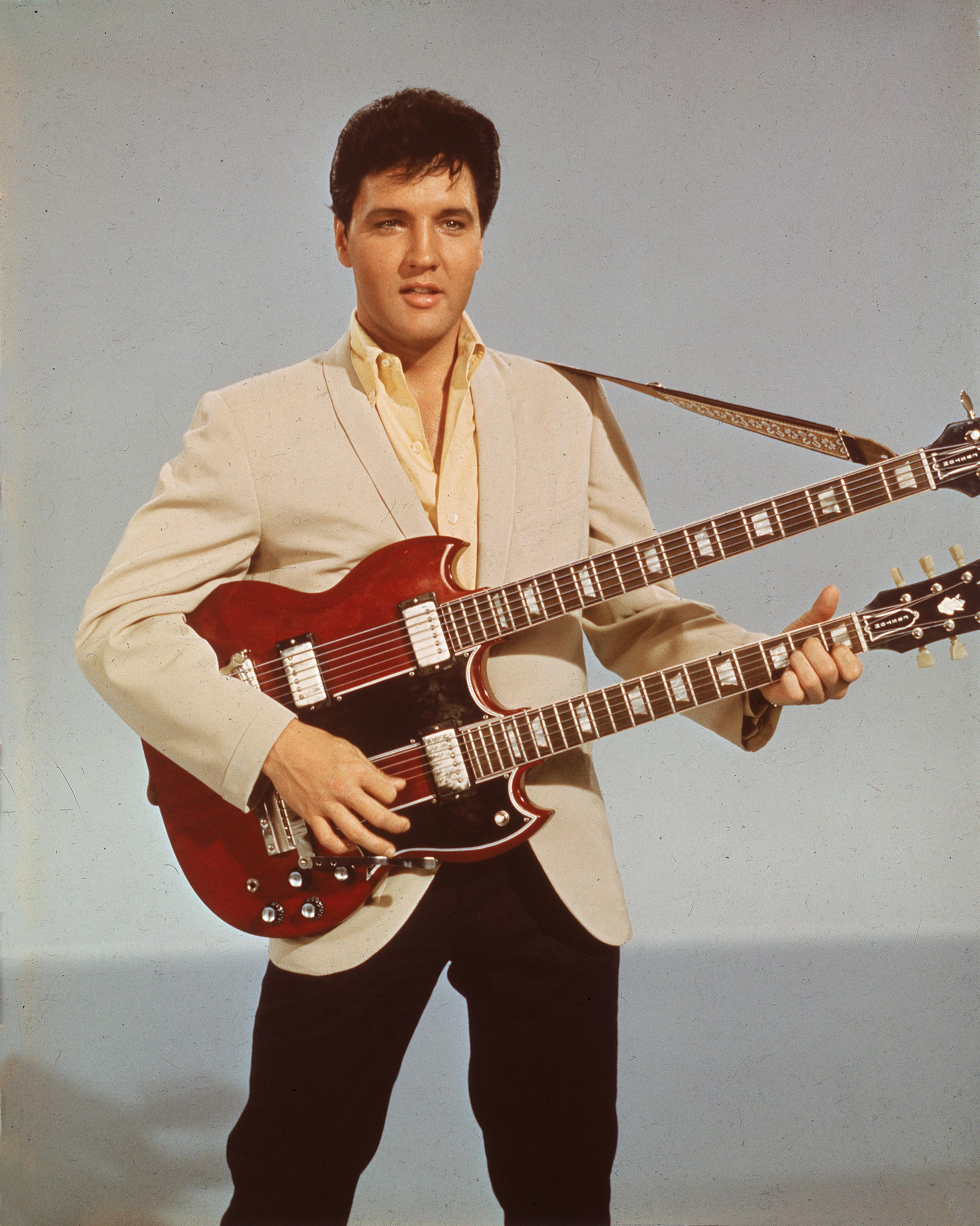 Portrait Of Elvis Presley