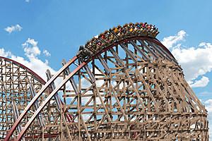 Cedar Point -Steel Vengence,roller coaster