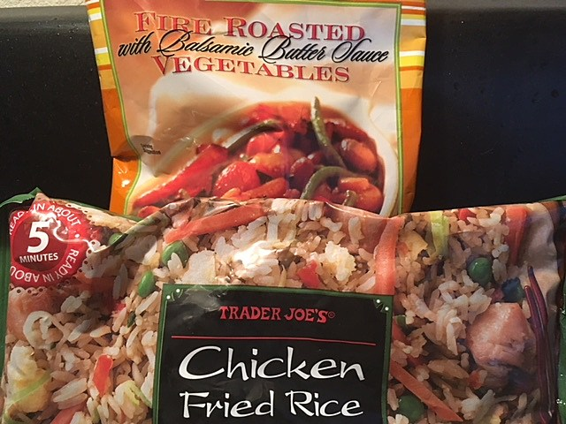 Two frozen food items from Trader Joe's. (Dave Benson/TSM)