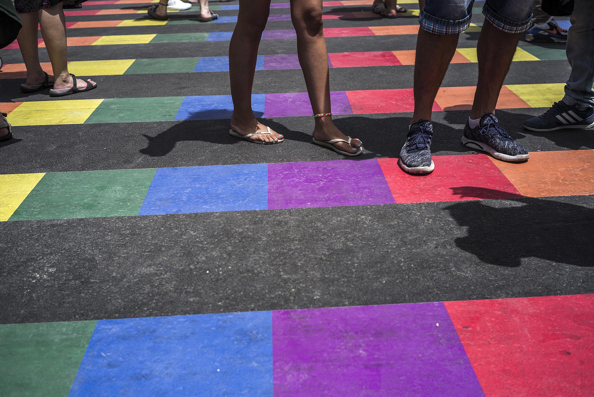 Annual Gay Parade Held In Tel Aviv