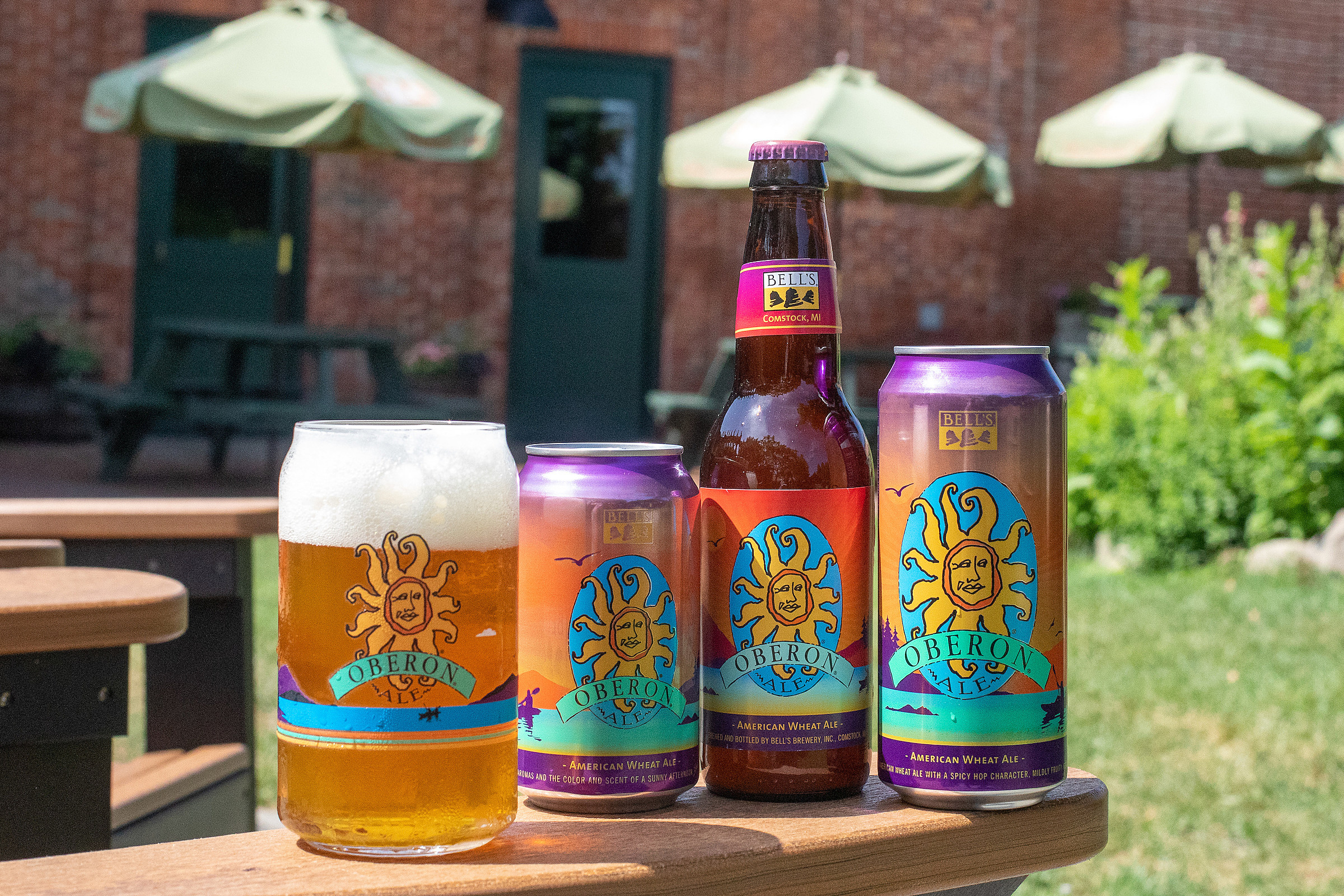 The entire 2019 limited edition Oberon color scheme. (Courtesy, Bell's Brewery, Inc.)